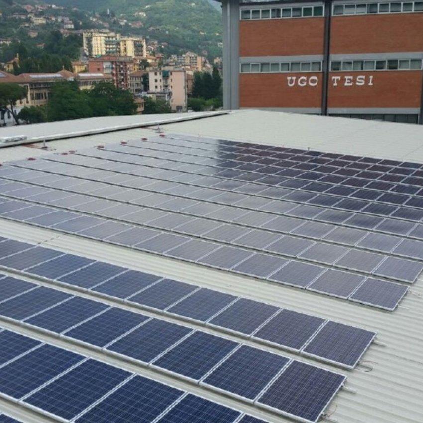 CENTRO ACQUARONE 20 kWp – impianti idustriali fotovoltaico – synergica